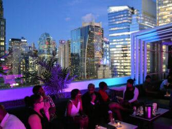 纽约最棒的屋顶酒吧 - Skyroom景观