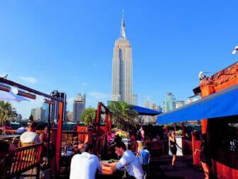 纽约最棒的屋顶酒吧 - 230Fifth日景