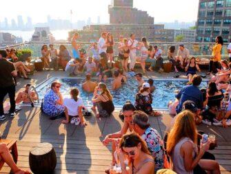纽约最棒的屋顶酒吧 - 泳池