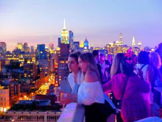 纽约最棒的屋顶酒吧 - The Roof日落