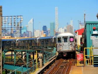 纽约长岛市 - 火车
