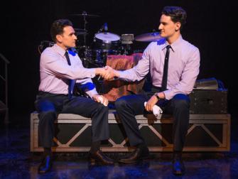纽约音乐剧《泽西男孩》门票 - 握手