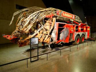 纽约9/11博物馆门票 - 消防车