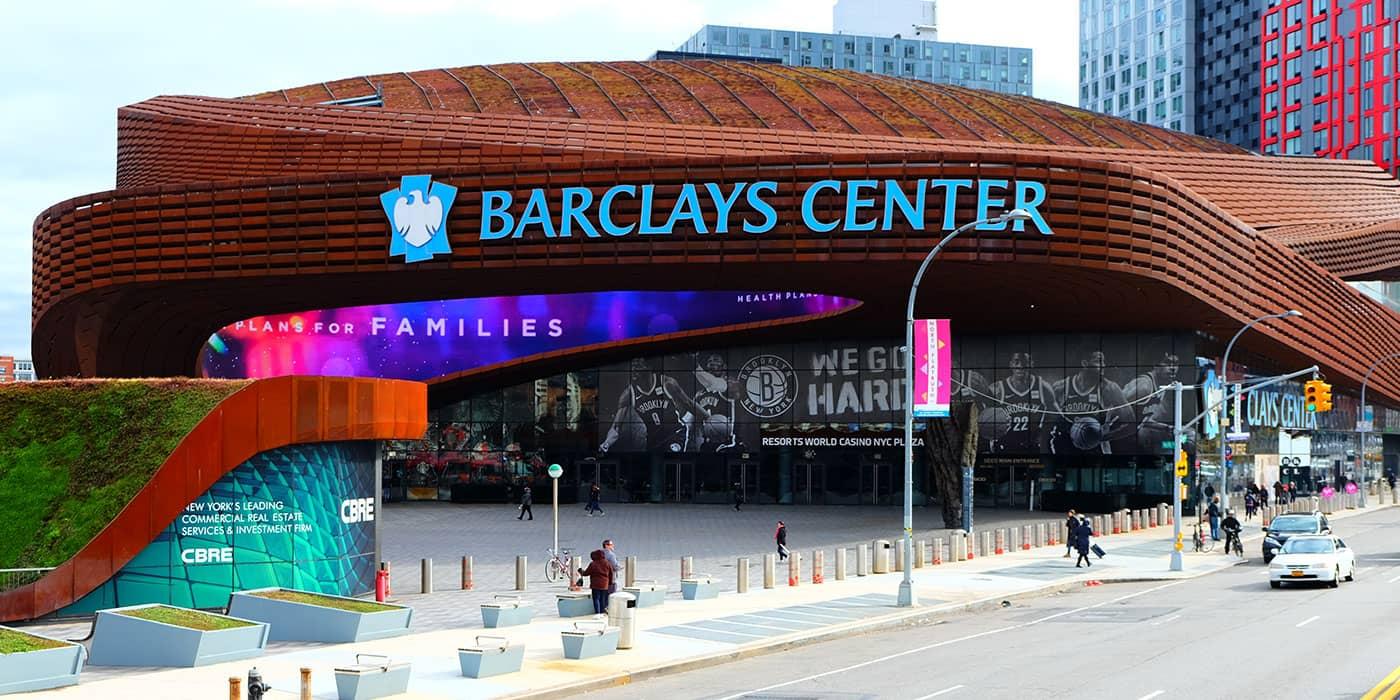布鲁克林篮网队门票 - 巴克莱中心