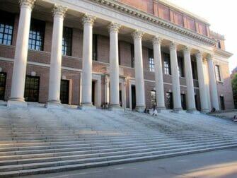 纽约至波士顿一日游 - 怀德纳纪念图书馆