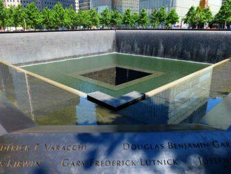 纽约金融区之旅 - 纽约911纪念馆