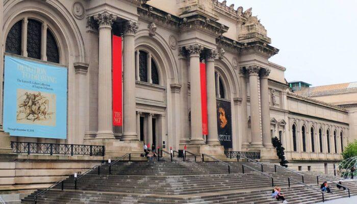 绯闻女孩之旅 - 大都会博物馆台阶