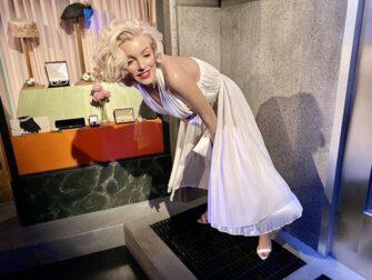 纽约杜莎夫人蜡像馆 - 玛丽莲梦露