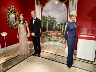 纽约杜莎夫人蜡像馆 - 英国皇室