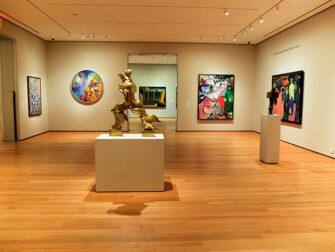 纽约MoMA现代艺术博物馆 - 空无一人的博物馆