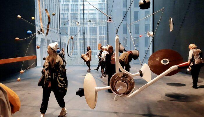 纽约MoMA现代艺术博物馆 - 装置艺术