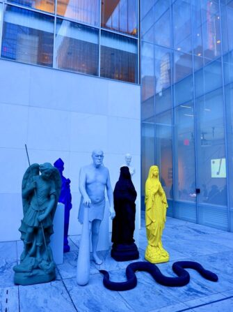 纽约MoMA现代艺术博物馆 - 雕塑