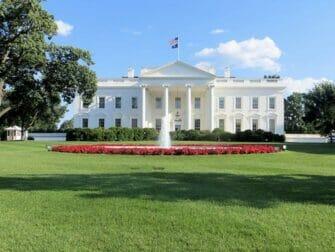 纽约至华盛顿火车一日游 - 白宫