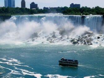 纽约至尼亚加拉瀑布二日游 - 观光游船