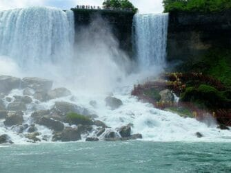 纽约至尼亚加拉瀑布二日游 - 新娘面纱瀑布