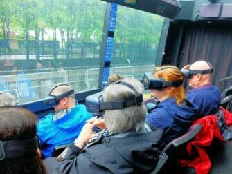 纽约The Ride观光巴士 - 市中心虚拟现实体验