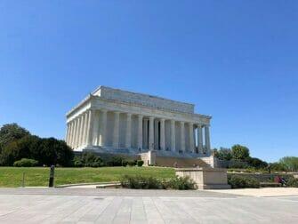 纽约至华盛顿巴士之旅 - 林肯纪念堂