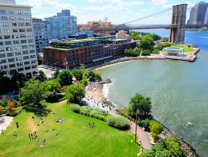 纽约布鲁克林大桥公园