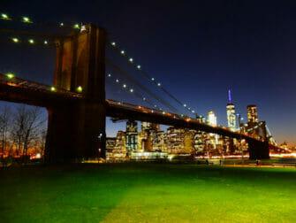 纽约布鲁克林大桥公园 - 布鲁克林大桥