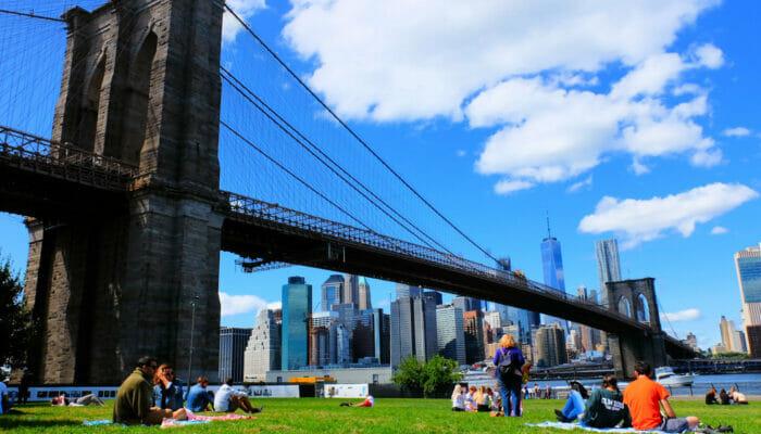 纽约布鲁克林大桥公园 - 休闲