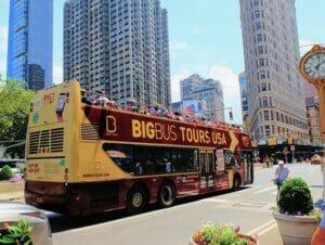 纽约随上随下观光巴士