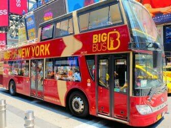 纽约随上随下观光巴士 - Big Bus