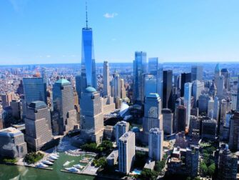 纽约直升机观光路线 - 曼哈顿天际线