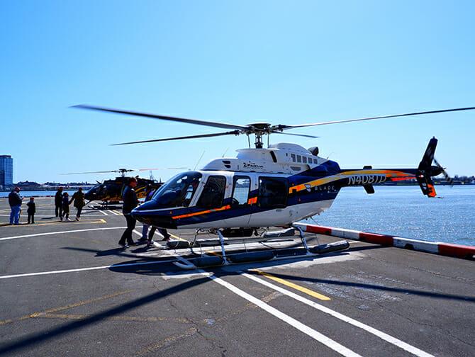 纽约直升机观光路线