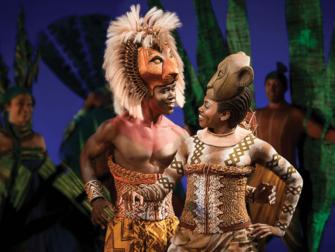 百老汇音乐剧《狮子王》门票 - 辛巴和娜娜