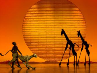 百老汇音乐剧《狮子王》门票 - 舞台