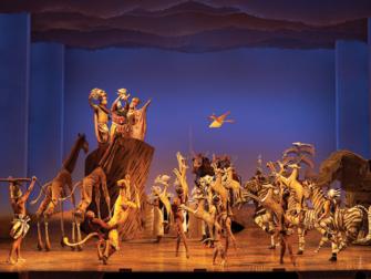 百老汇音乐剧《狮子王》门票 - 开场曲《生生不息》