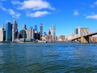 布鲁克林和康尼岛的纽约披萨之旅 - 布鲁克林大桥公园