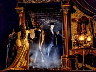 百老汇音乐剧《歌剧魅影》 - 舞台设计