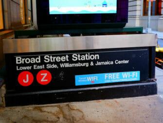 纽约的免费WiFi - 第五大道车站提供WiFi