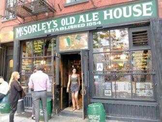 纽约的隐藏(地下)酒吧之旅 - McSorleys