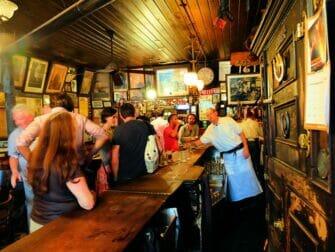 纽约的隐藏(地下)酒吧之旅 - 地下酒吧