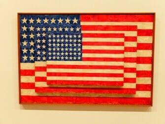 纽约惠特尼博物馆 - Jasper Johns Flag