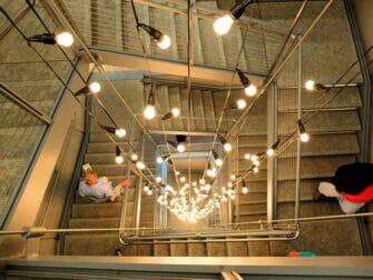 纽约惠特尼博物馆 - 旋转楼梯