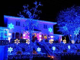 戴克高地圣诞灯展 - 蓝色主题