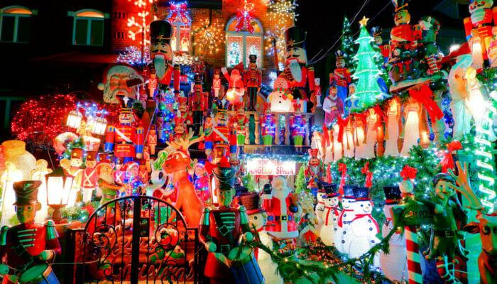 戴克高地圣诞灯展 - 圣诞装饰