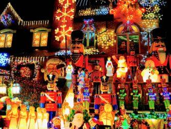 纽约圣诞季 - 灯光人偶