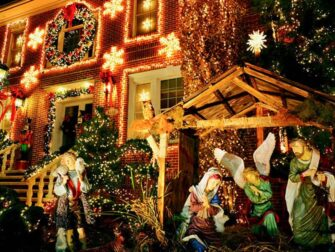 戴克高地圣诞灯展 - 耶稣诞生场景