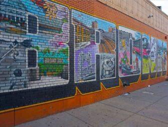 布鲁克林、皇后区和布朗克斯区之旅 - 布朗克斯街头艺术