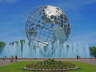 布鲁克林、皇后区和布朗克斯区之旅 - 法拉盛大地球仪