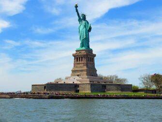 纽约玻璃游船午餐 - 自由女神像