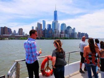 纽约玻璃游船午餐 - 风景