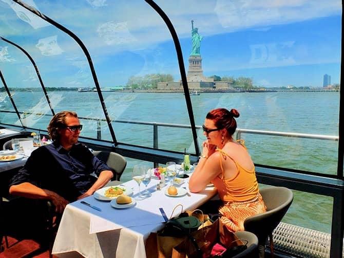 纽约游船午餐
