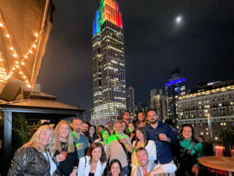纽约屋顶酒吧 - 帝国大厦