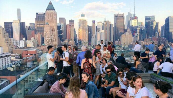 纽约屋顶酒吧之旅 - 曼哈顿