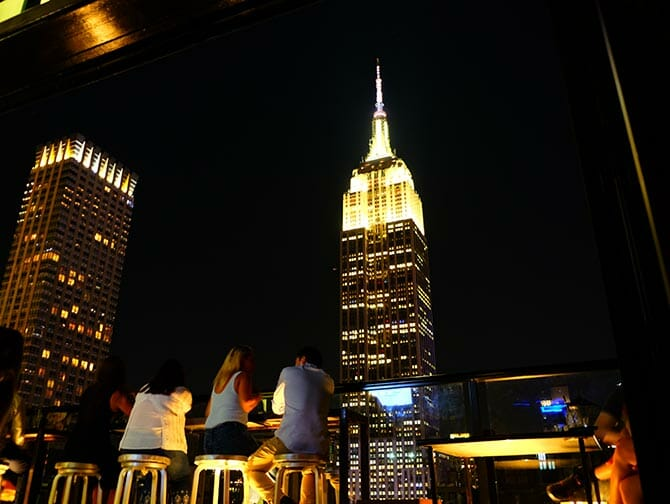 纽约屋顶酒吧之旅